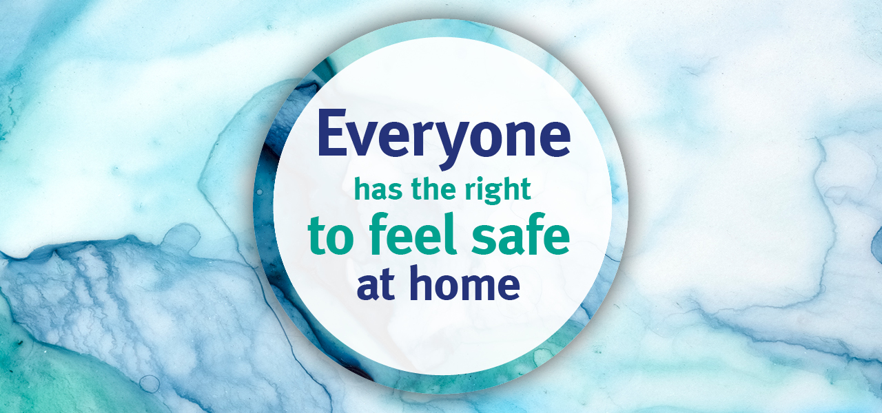 Everyone has the right to feel safe